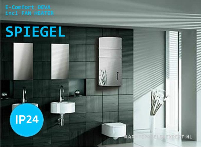 Radiator Met Spiegel : E comfort deva spiegel radiator